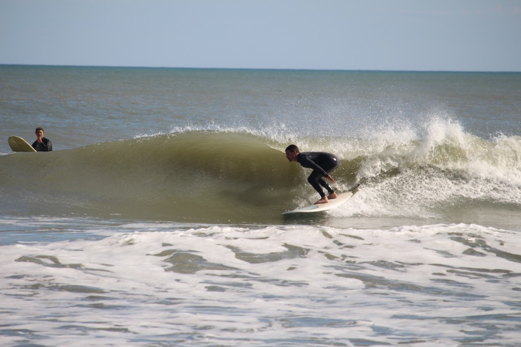 Alex Pappas at Dunes Club. South Carolina, surfing photo
