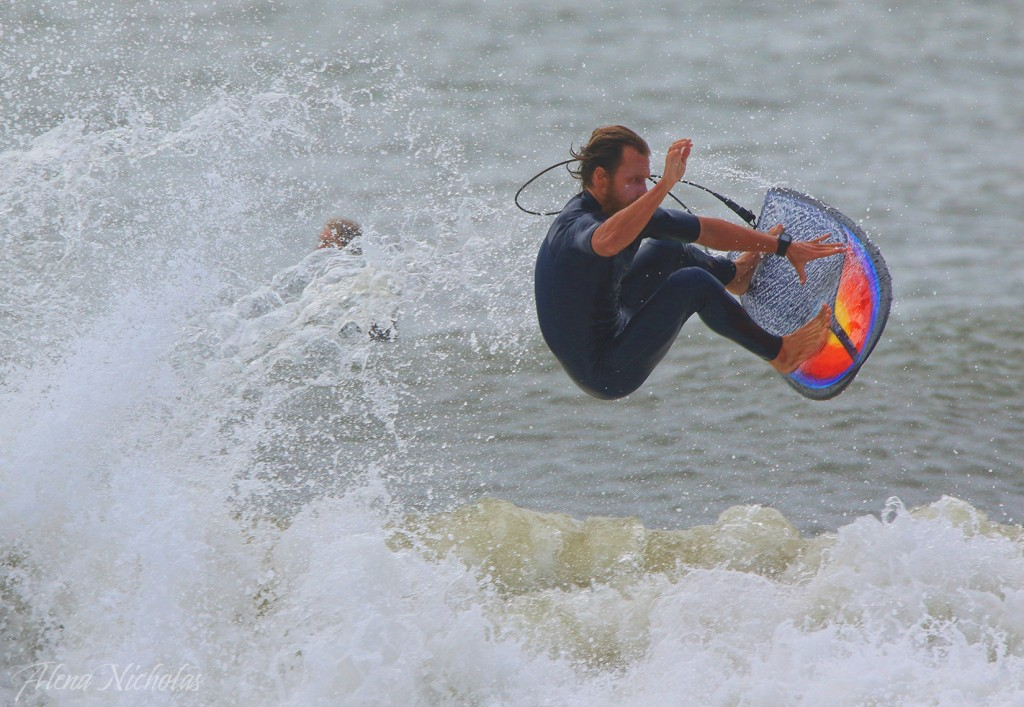Dunes Club Surf Team/Surf City Surf Team rider Chris