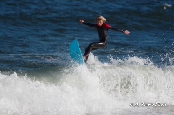 Charlie back in October. New Jersey, surfing photo