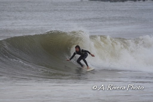 Monday Swell Part 2 Me on a fun waves