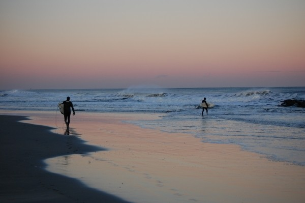 Winter Solstice. New Jersey, surfing photo