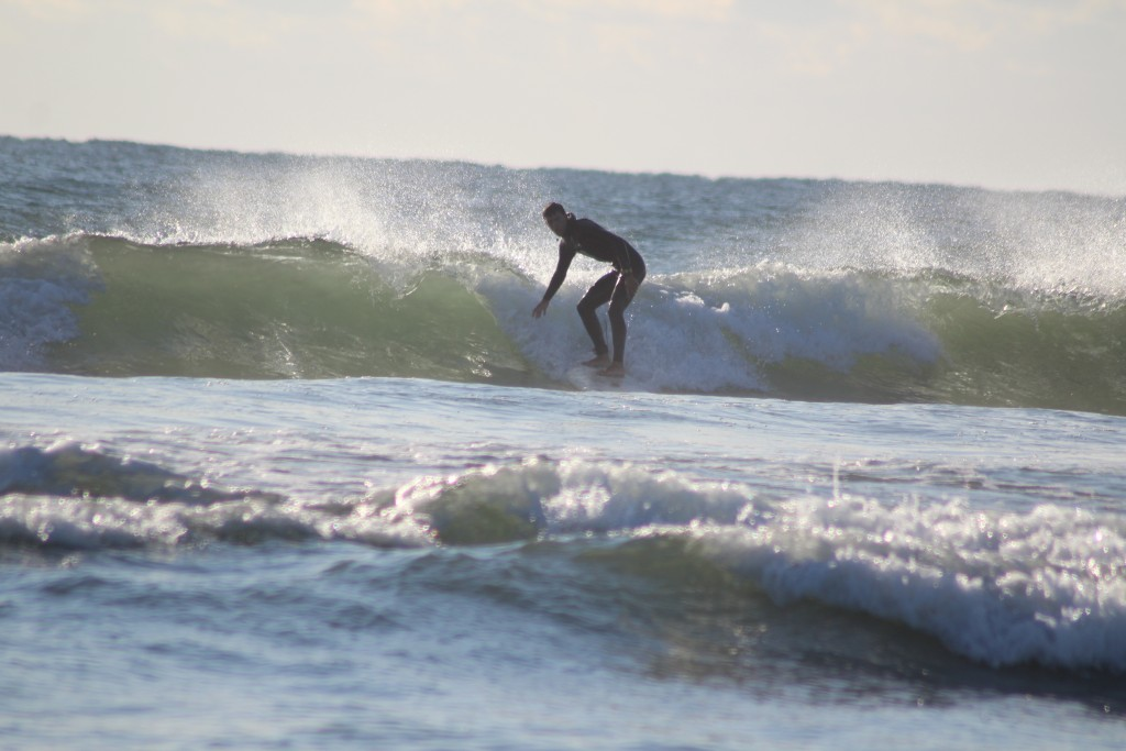 Nice Hurricane Teddy Leftovers. Northern New England, Surfing photo