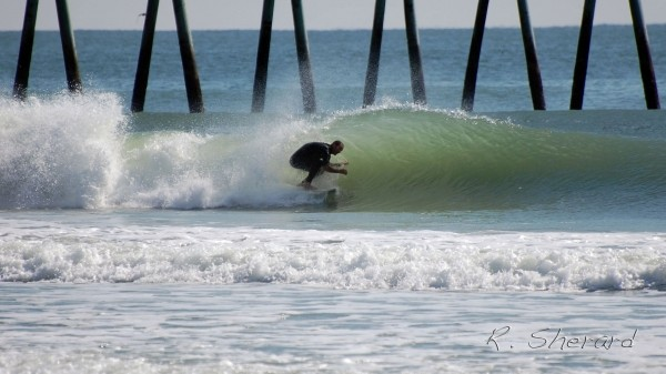 Barrels. Southern NC, Surfing photo