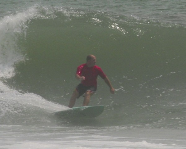 Bill Swell - Topsail. Southern NC, Surfing photo