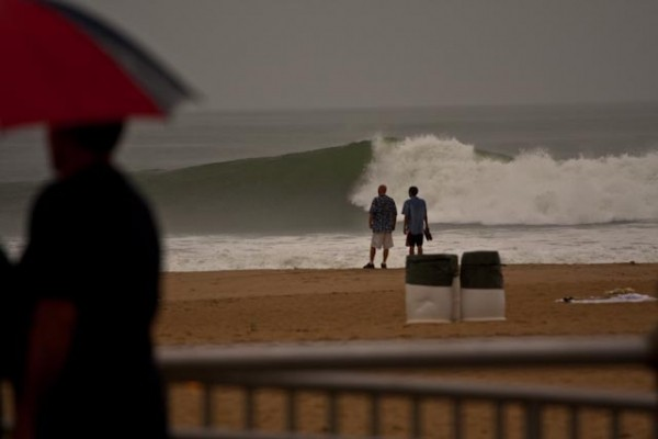 Hurricane Bill - Va Beach come on...why did I surf