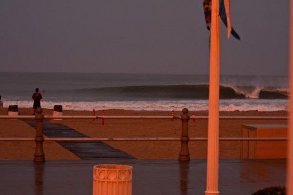 Hurricane Bill - Va Beach. Virginia Beach / OBX, Surfing photo