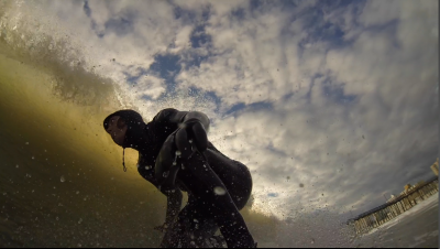 GoPro-ScreenGrab First session with the Hero3 Black.