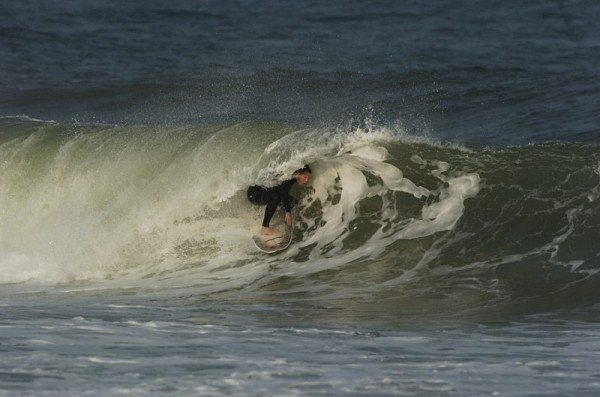 Brian Heritage Master shaper/surfer. New Jersey, surfing photo