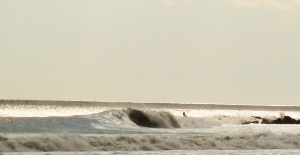 Winter... Frothy. New Jersey, surfing photo