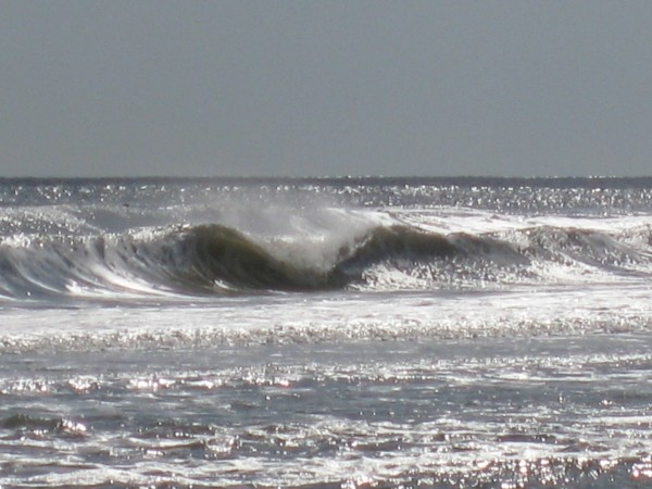 Looking Forward To Winter Waves! Cool A-Frame I think...