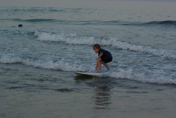 learning the trade.... New Jersey, surfing photo