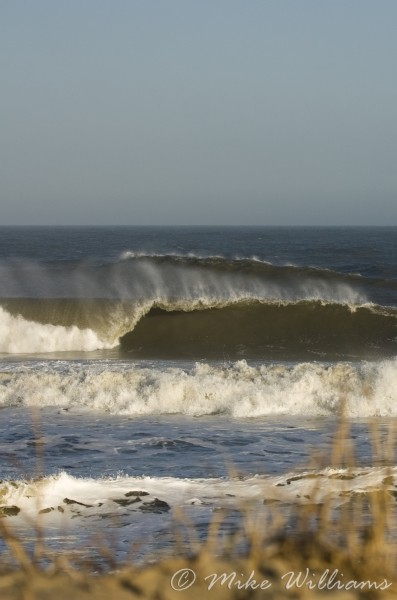 Outside oc 12/9/09. Delmarva, Empty Wave photo