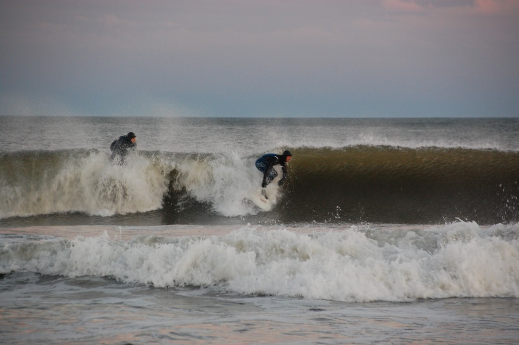 Kannman getting a nice one. New Jersey, Surfing photo