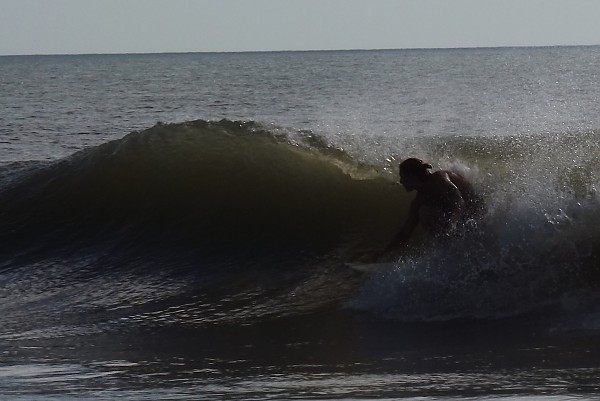 right tube obx. Virginia Beach / OBX, Surfing photo