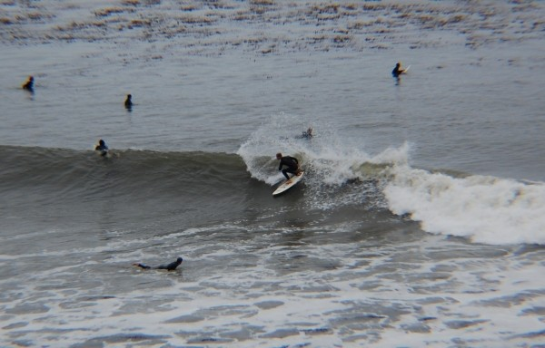 Frontside Snap. San Francisco, Surfing photo