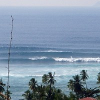 swell waves. Puerto Rico, Empty Wave photo