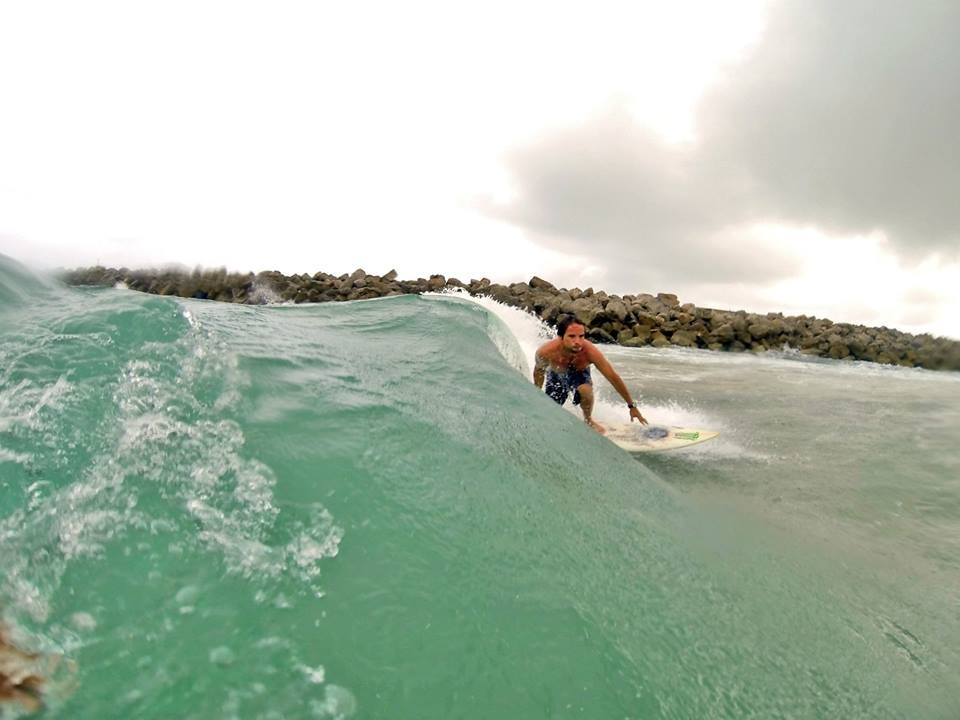 Malecon Miramar Cd. Madero. Mexico North Gulf, Surfing photo