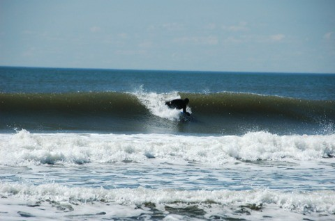 surf shots Small offshore. United States, Bodyboarding photo