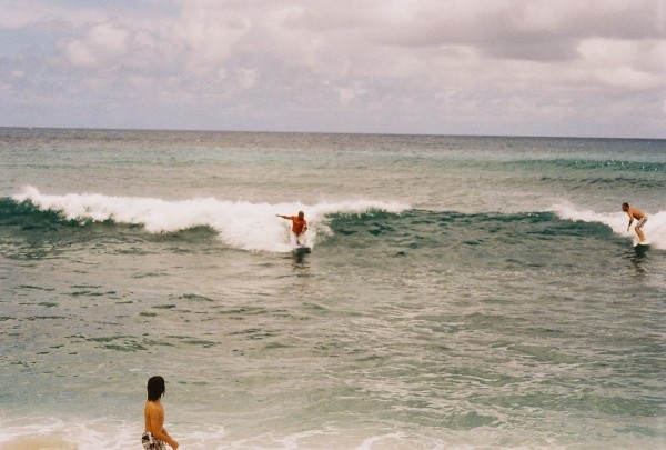 Oahu NORTH SHORE, OAHU. United States, Bodyboarding photo