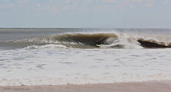 Irene. Delmarva, Bodyboarding photo