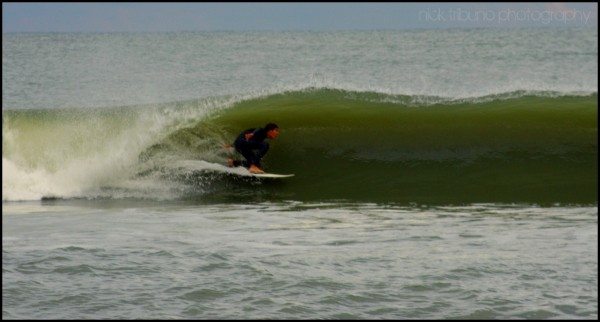 10-5-10. Delmarva, Surfing photo