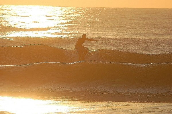 Dawn Patrol An early morning in August, Ocean City,