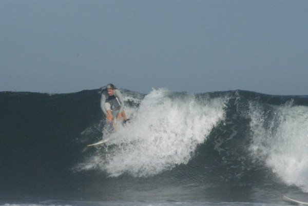 Connor Stimpson (13 Year Old Grom) on a day in Belmar