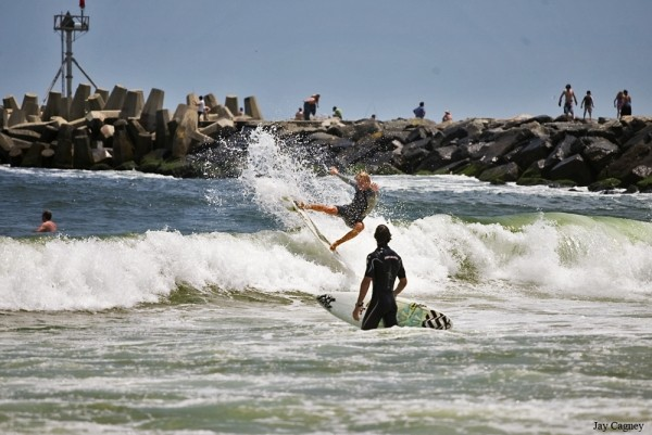 7/13/09. New Jersey, Surfing photo