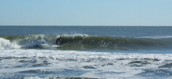 Xmas eve Ocean City, MD Mike Lutz w/ a nice line in