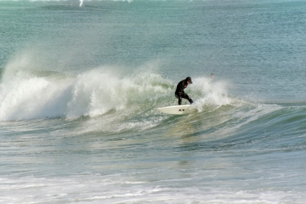 Manasquan wooobat. New Jersey, surfing photo
