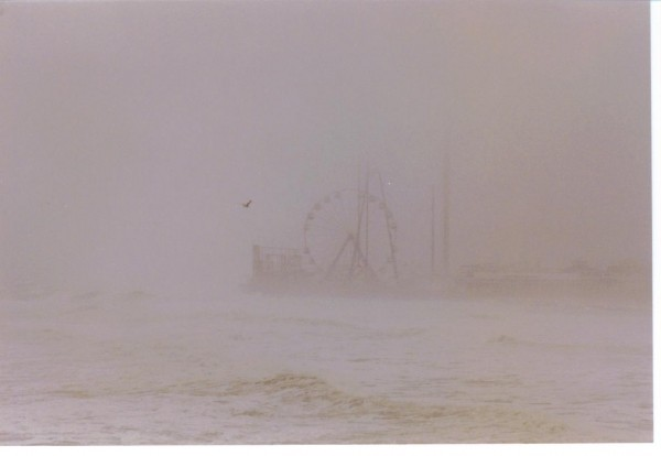 Casino PIer fog. New Jersey, surfing photo