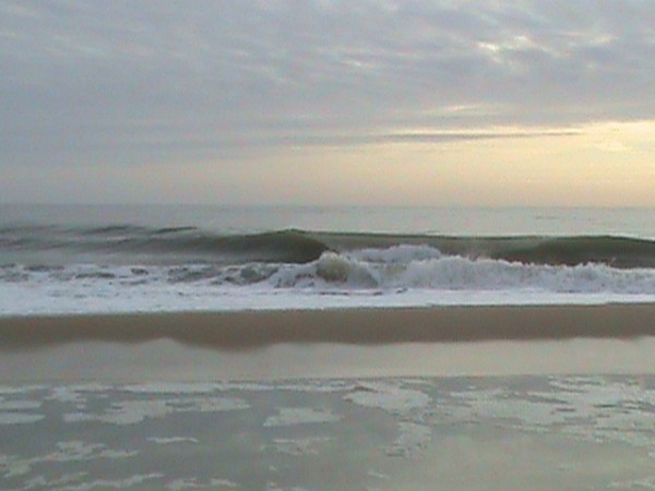 Fenwick De This morning. Delmarva, surfing photo