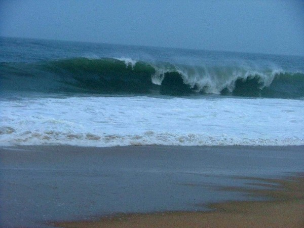 3 11 09 De Got Teeth. Delmarva, Empty Wave photo