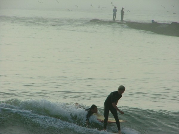 Let Go Of  My Board !!!. Delmarva, surfing photo