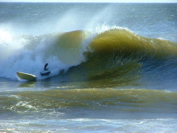 2 13 09 Oooops. Delmarva, surfing photo