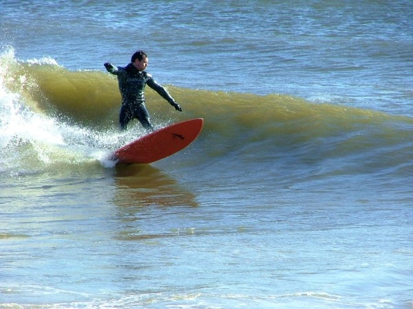 2 13 09. Delmarva, surfing photo