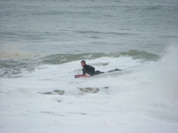 2 13 08 de just chillin. Delmarva, surfing photo