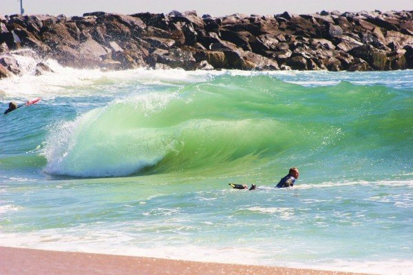 The Wedge at New Port beach a day of photography at