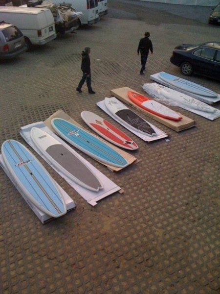 2010 Stand Up Paddle Demo Fleet - Surf & Adventure