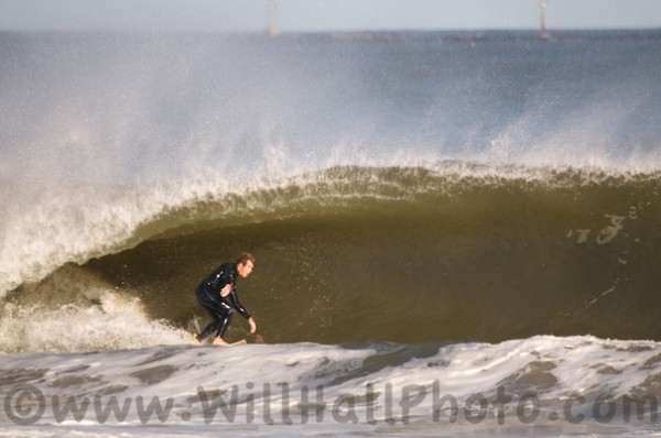 Cape May Igor. Delmarva, Surfing photo