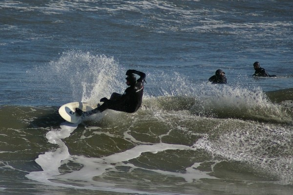 Ocean City, Md  12/20/09 winter surf. Delmarva, Surfing photo