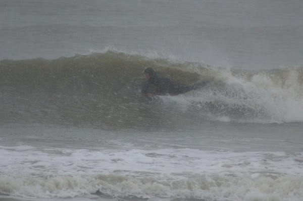 2-10-10 SNOW SURF. Delmarva, Surfing photo