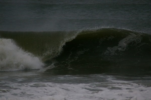 Morning Waves. Delmarva, Empty Wave photo