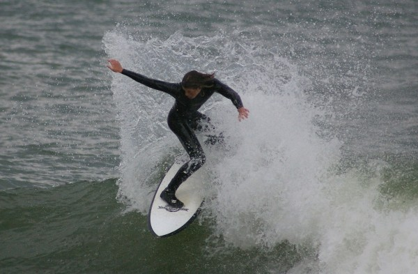 4.27.10. Delmarva, Surfing photo