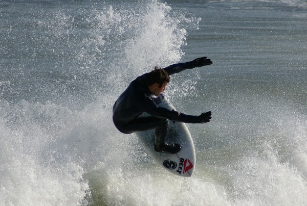 Ocean City, Md  4/09/10. Delmarva, Surfing photo