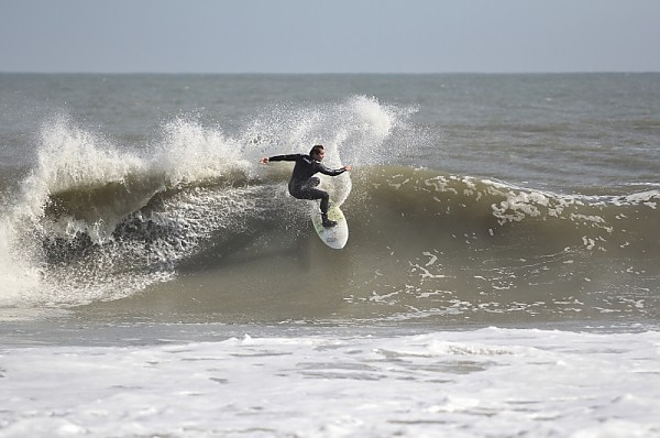 11.3.2011. Delmarva, Surfing photo