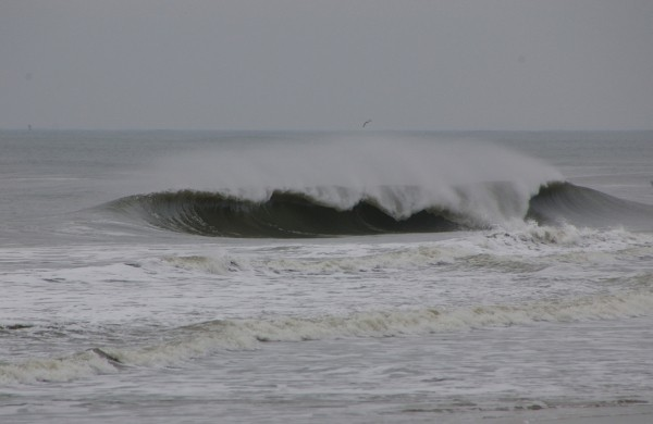 1.27.2011 morning waves. Delmarva, Empty Wave photo