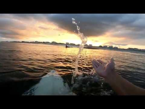 August Rewind - Crystal Clear New Jersey Ocean [HD] Go Pro Hero 6 Black