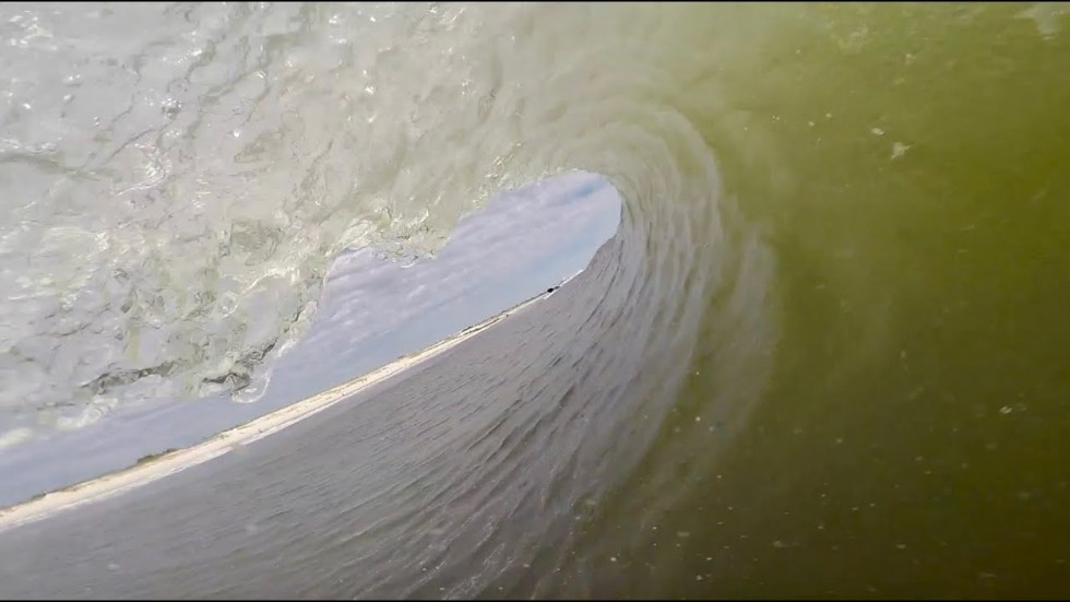 Surfing Clean New York Barrels