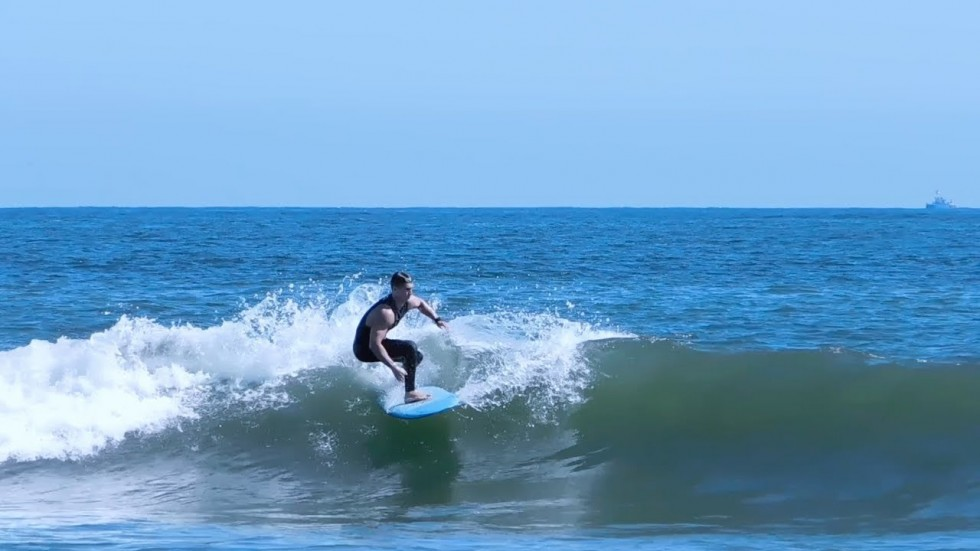 Spring Surfing in New Jersey -
